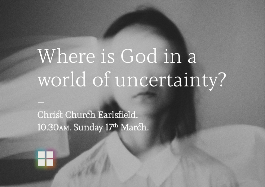 Where is God in a world of uncertainty?